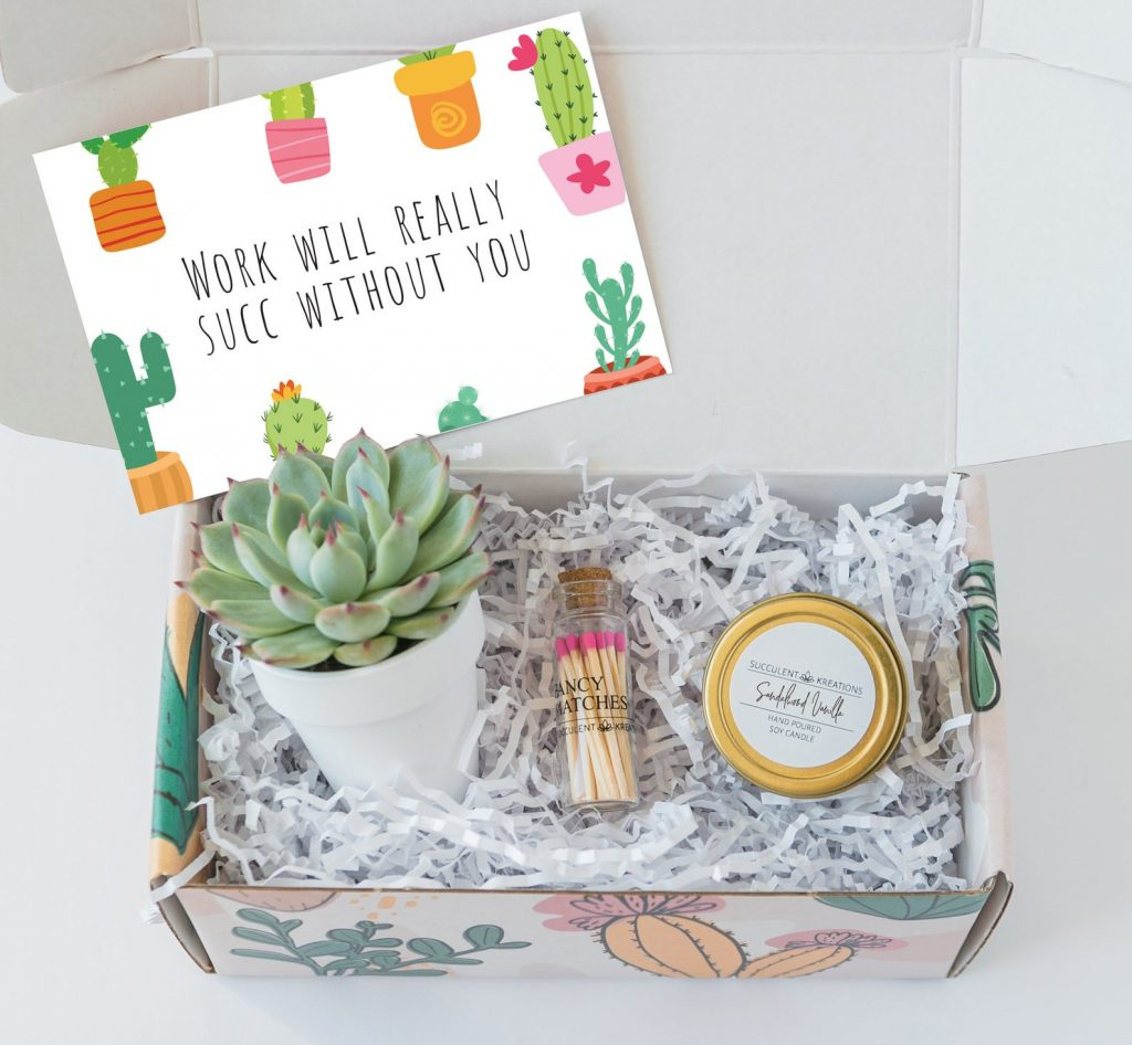 """""""Work Will Succ Without You"""" and Unique Going Away Gifts for Coworkers by Gifter World"""