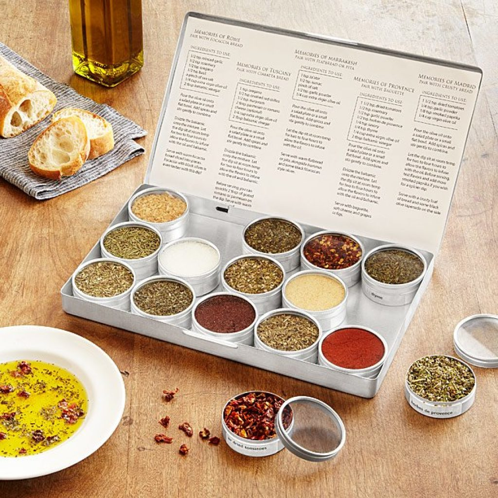 Gourmet Dipping Oil Spice Kit and the Best Gifts for Women in Their 40s by Gifter World