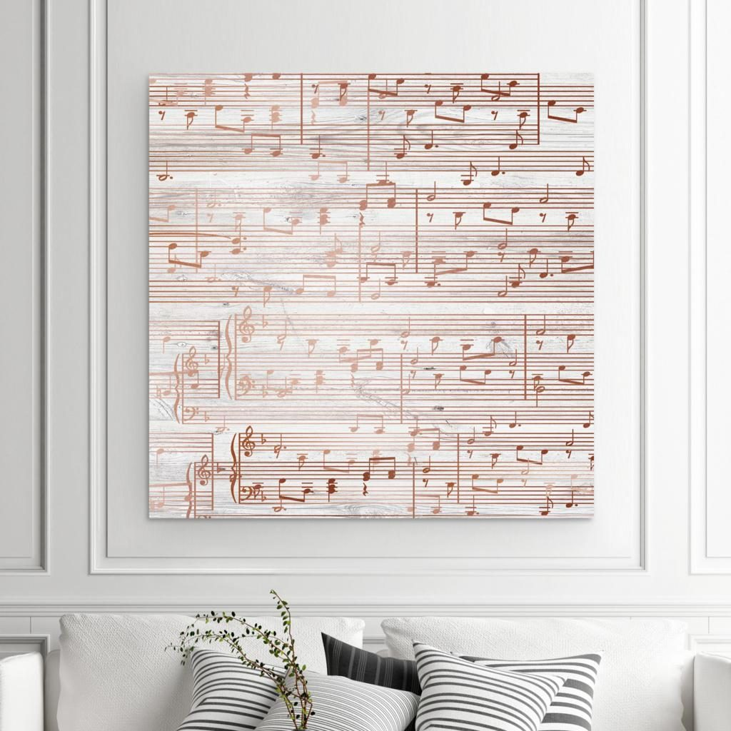 Copper Sheet Music and Unique 7-Year Anniversary Gifts by Gifter World