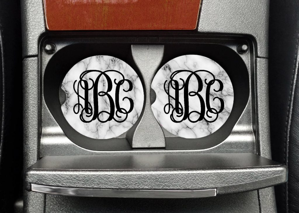 Custom Car Coasters and Unique Car Accessories as Gifts by Gifter World