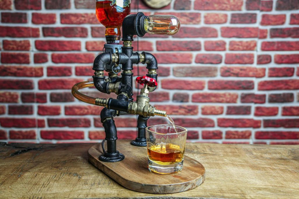 Firefighter Drink Dispenser and Unique Firefighter Gifts for Men and Women by Gifter World