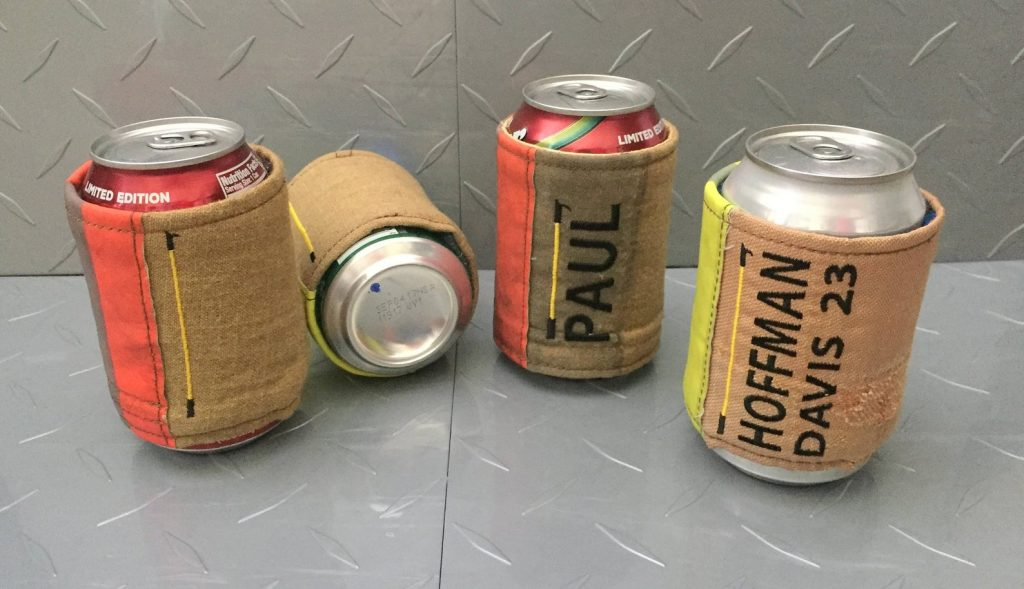 Personalized Firefighter Beer Cozy and Unique Personalized Gifts for Firefighters by Gifter World