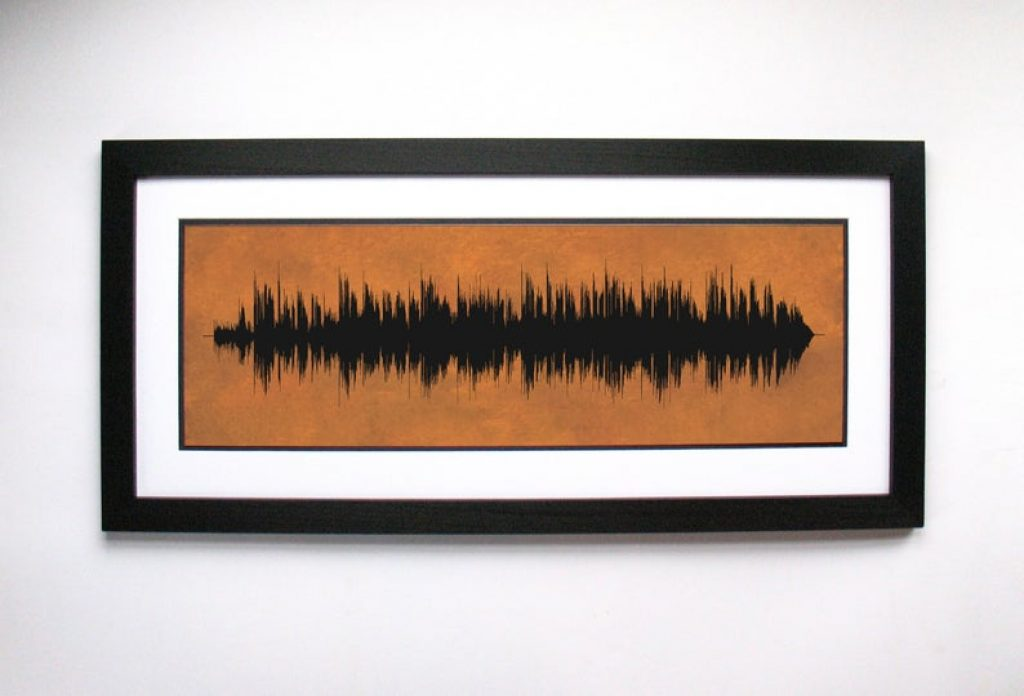 Soundwave Copper Art and Personalized 7 Year Anniversary Gifts by Gifter World