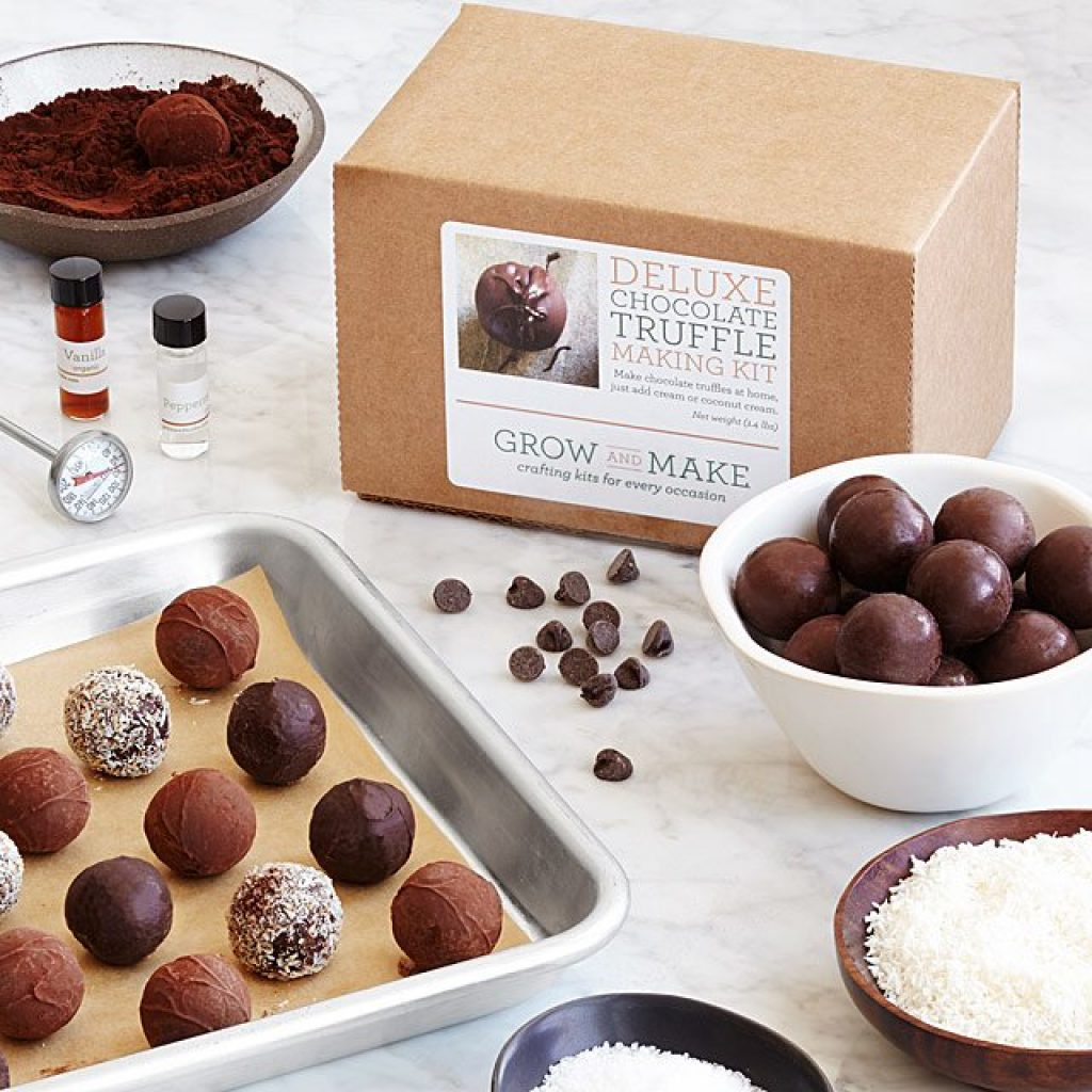 DIY Make Your Own Chocolate Truffles Kit and Unique Gift for Son's Girlfriend by Gifter World