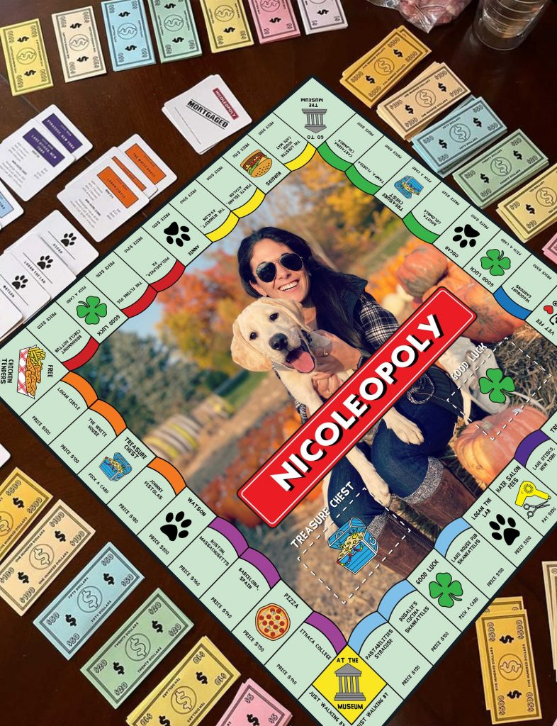 Custom Monopoly Game and Personalized Gifts for 18 Year Old Boys and Girls by Gifter World