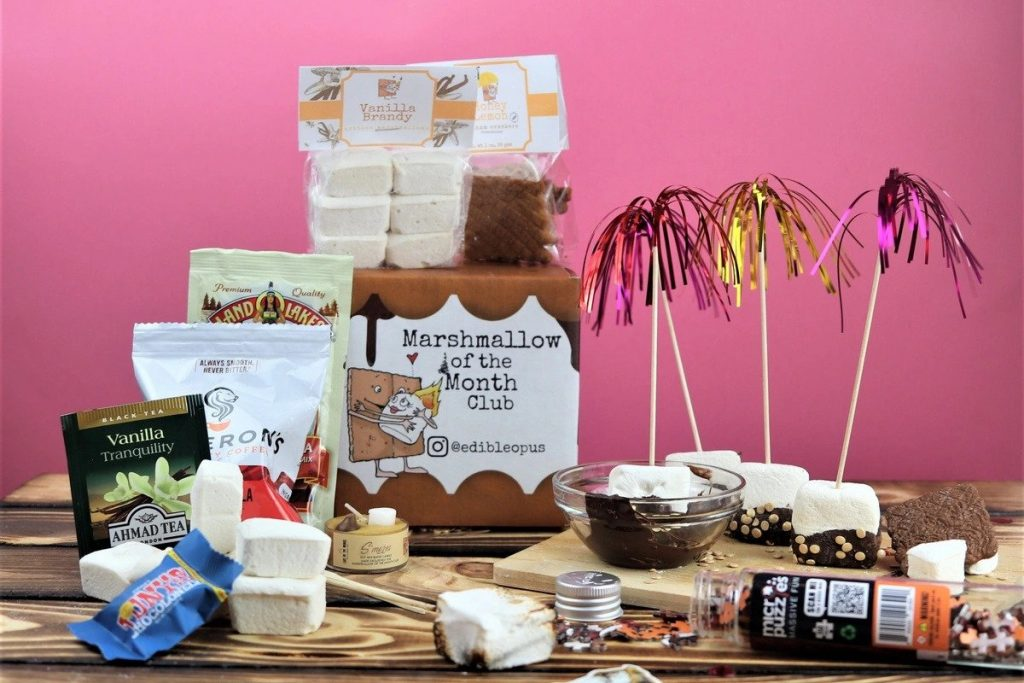 Marshmallow of the Month Club Subscription and the Best Gifts for 18 Year Olds by Gifter World