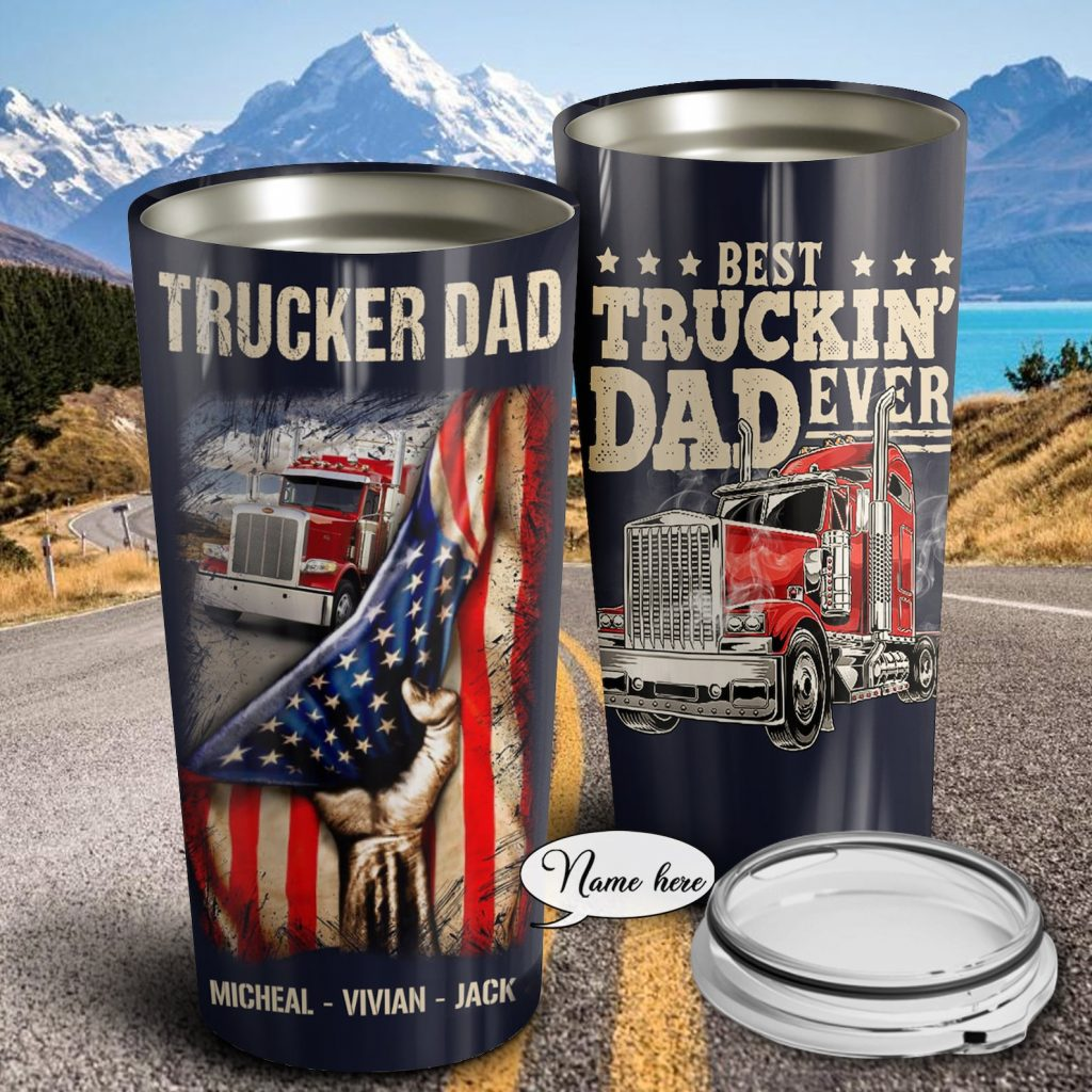 Personalized Trucker Tumbler and the Best Truck Driving Gifts by Gifter World