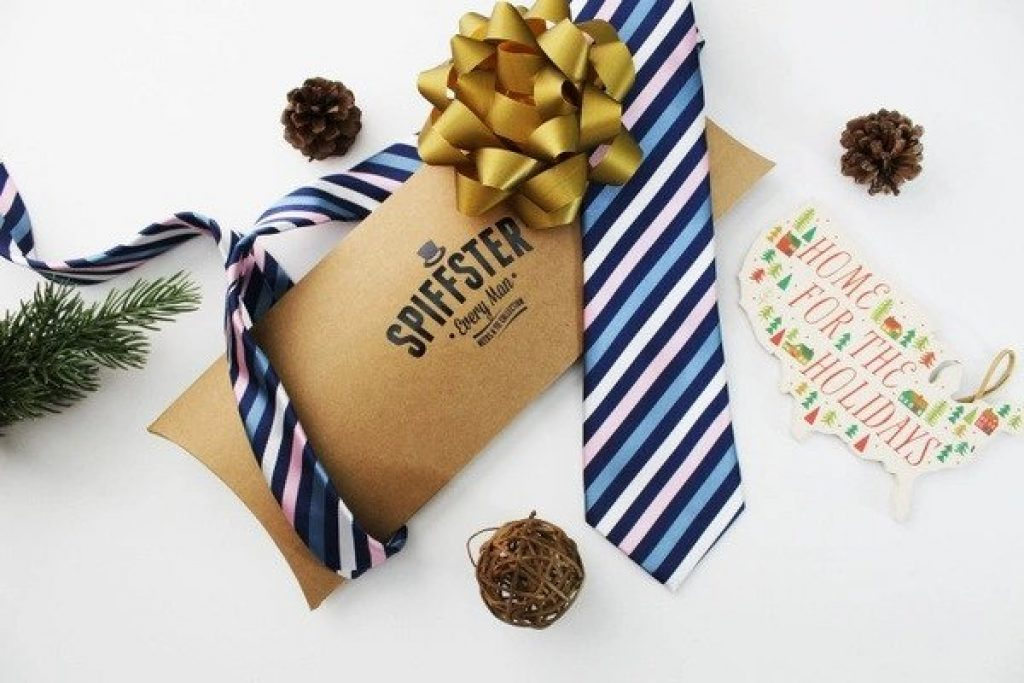 Tie of the Month Club by Spiffster and Unique Gifts for Men in Their 50s by Gfter World