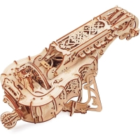Hurdy Gurdy 3D Puzzle (and Music Instrument)