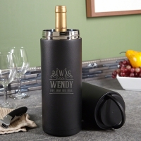 Personalized Portable Wine Cooler