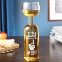 I Only Have Time For One Glass – Wine Bottle